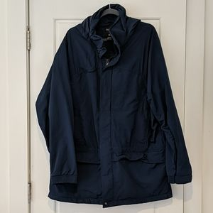 L.L.Bean outdoors rain coat tall large